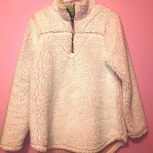 Light Pink Sherpa